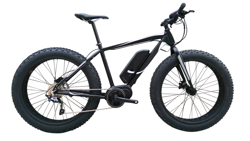 FAT Electric Bike with 350W/250W 8FUN Centre motor, FAT04