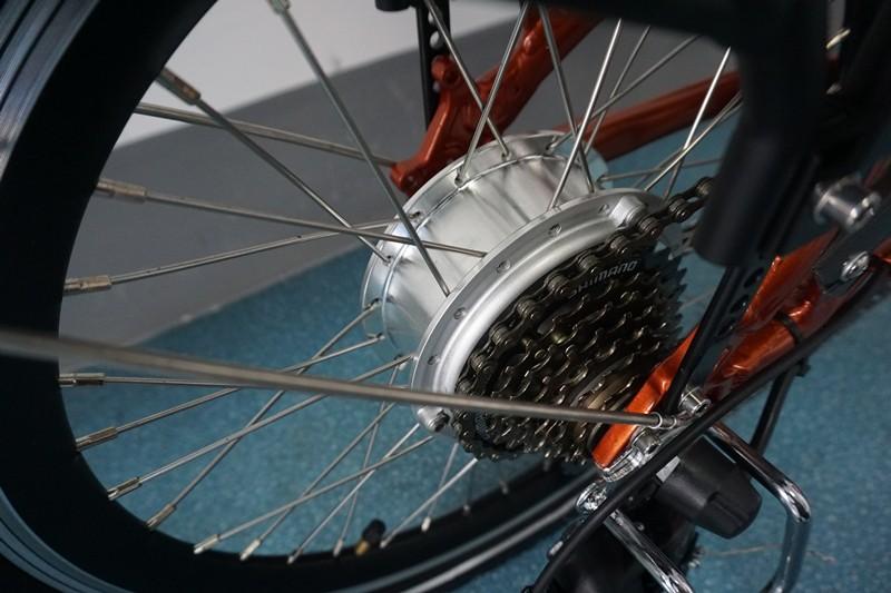 Brushless rear motor
