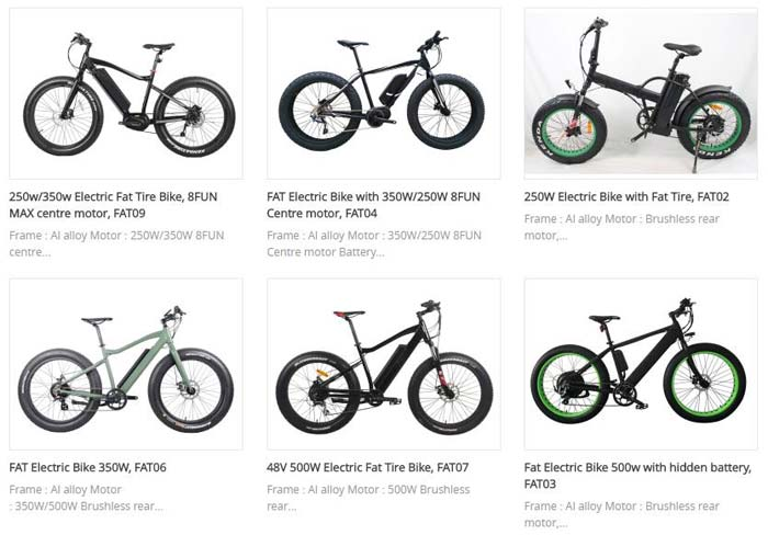 FAT ELECTRIC BIKES