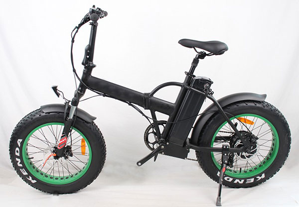 Electric Bike with Fat Tire